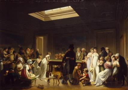 Louis-Léopold_Boilly_-_Game_of_Billiards_-_WGA02350