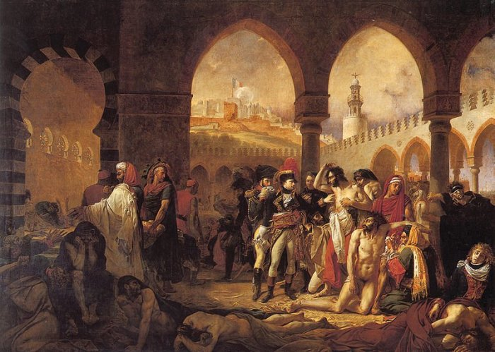 napoleon-visiting-the-plague-stricken-at-jaffa-by-jean-antoine-gros