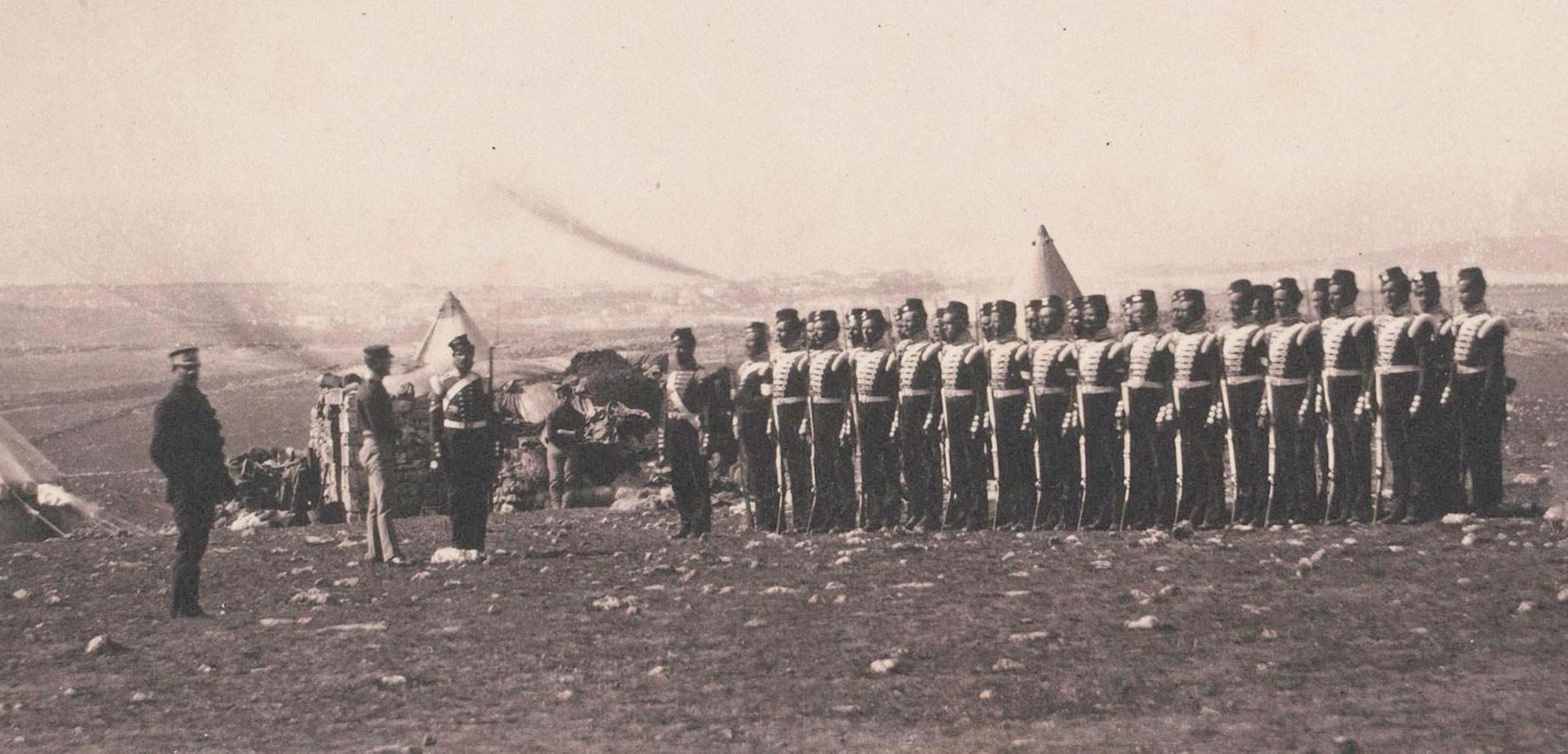 38th foot light company 1855