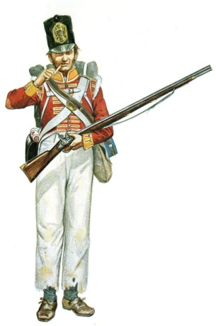 66th foot soldier