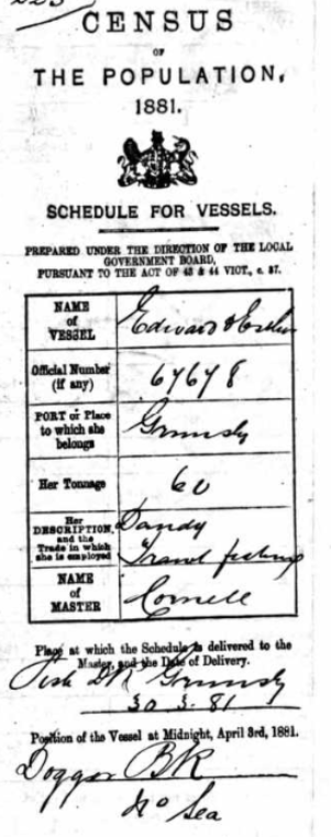 edward and esther census
