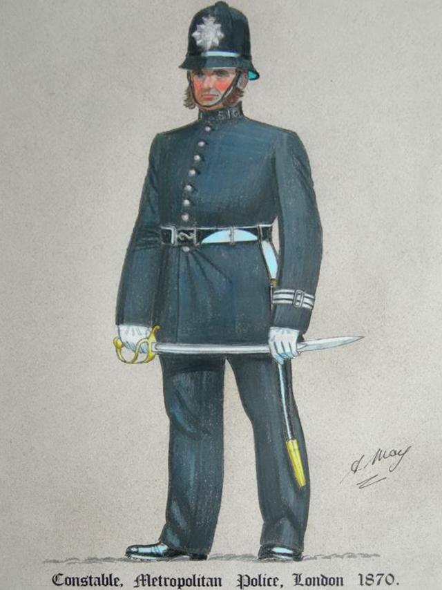 met police pc 1870